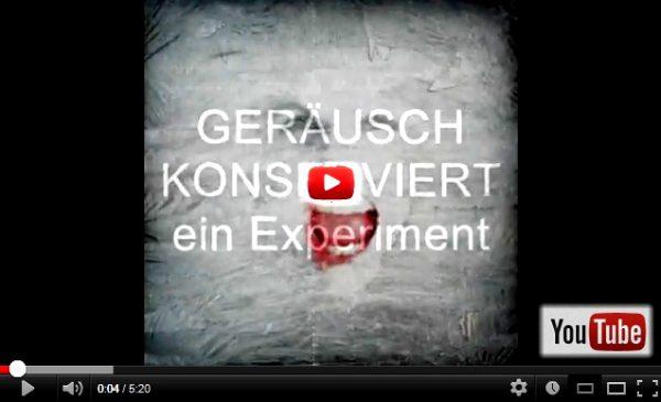 Videoscreen GERÄUSCH KONSERVIERT